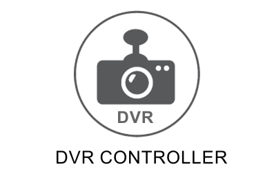 DVR sterowanie z ekranu