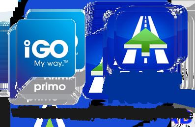 Wbuowany GPS offline