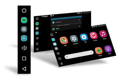 Vertical Ui interface