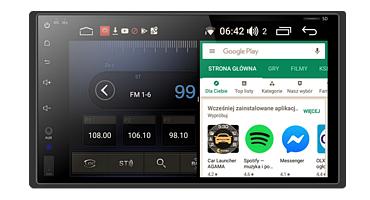 Całkowicie now platforma NAVIX, nowszy, lepszy, szybszy. Android 9.0 bez kompromisów.